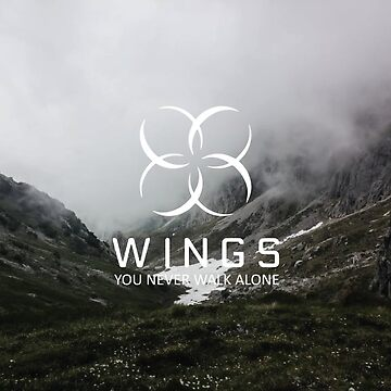 BTS- Wings with Text Mountain Version by jongminguk