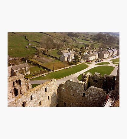 View from Bolton Castle Photographic Print