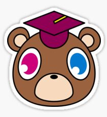 Kanye Graduation Bear Sticker