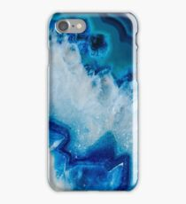 Royally Blue Agate iPhone Case/Skin