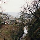Castleton - looking back from Peak Cavern by georgiegirl