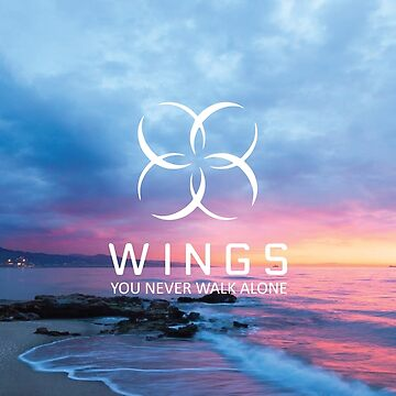 BTS - Wings with Text Sunset Version by jongminguk