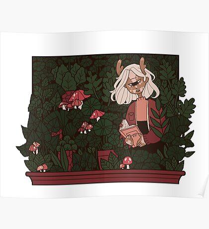 deirdre's garden Poster
