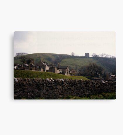 Castleton Castle Canvas Print