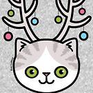 Festive Kitty Cat by zoel