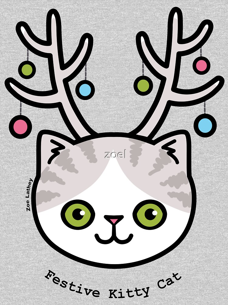 Festive Kitty Cat | Sweatshirt