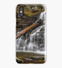 Nature Waterfall Autumn Mountains Ricketts Glen State Park Pennsylvania Waterfall iPhone Case/Skin