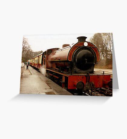 Haiverthwaite Steam Train Greeting Card