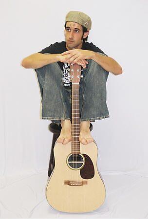 Dan & His Guitar by Pamela Murdock