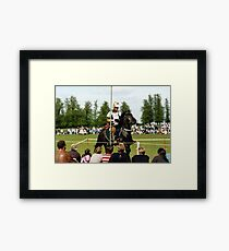 Knight in Shiny Armour Framed Print