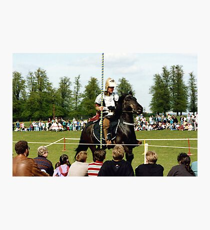 Knight in Shiny Armour Photographic Print