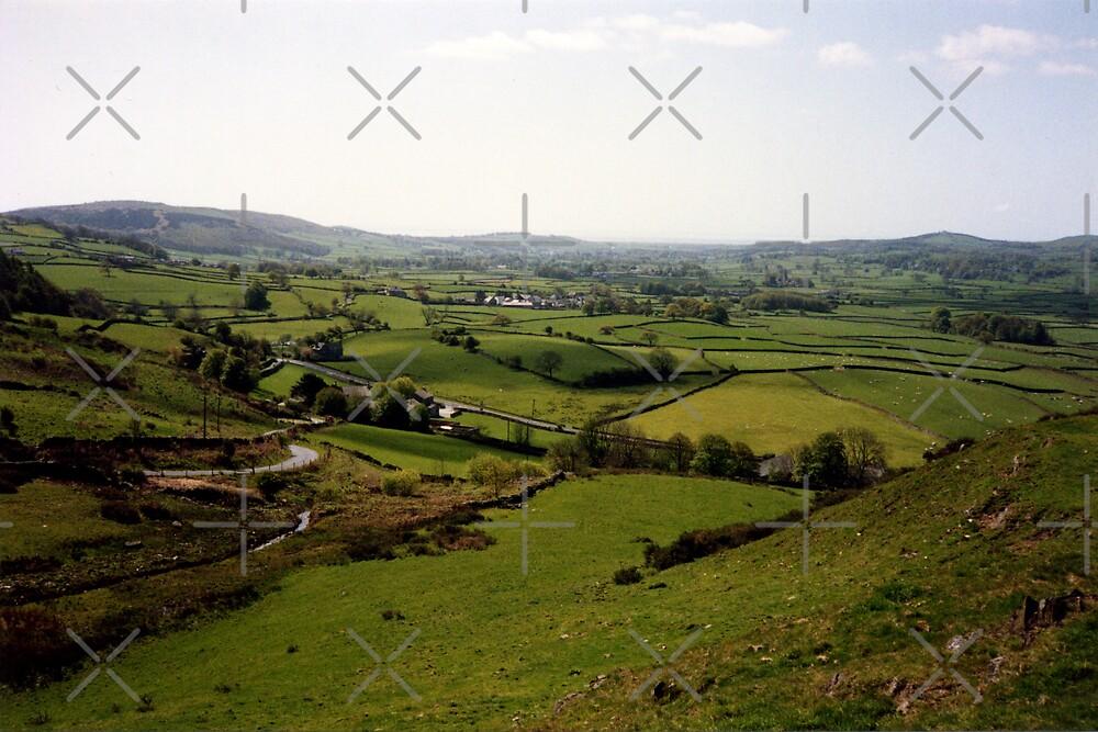 Ayside Hills in Spring by georgiegirl