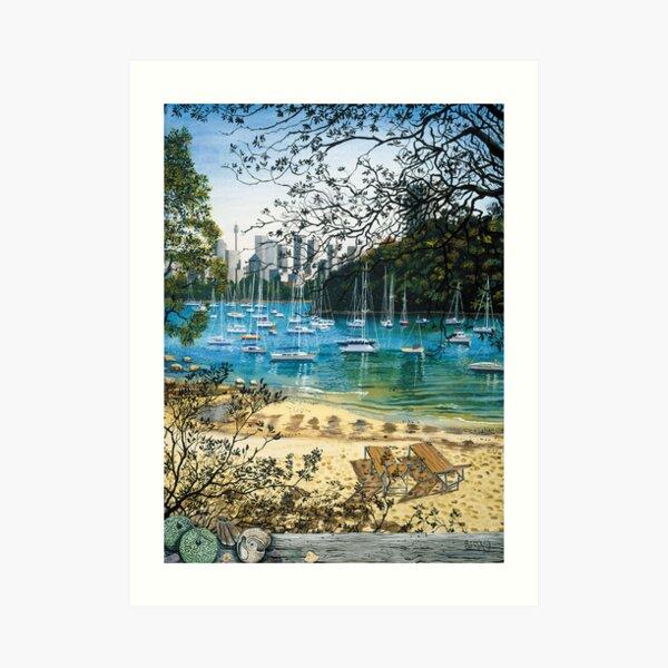 Sirius Cove - Sydney Art Print