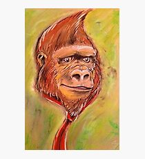 Realistic Donkey Kong Photographic Print
