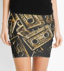 Music nostalgia Mini Skirt