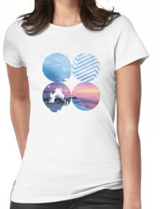 BTS - Wings Sunset Version Womens Fitted T-Shirt