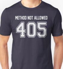 Error 405 - Method Not Allowed - Navy Letters T-Shirt