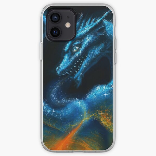 Frost Dragon iPhone Soft Case