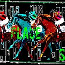 Horse Racing Win, Place, Show by Ginny Luttrell