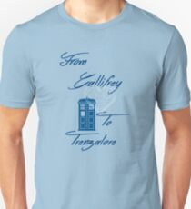 Gallifrey to Trenzalore T-Shirt
