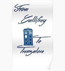 Gallifrey to Trenzalore Poster