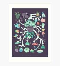 Pinch Pot Infographic Art Print