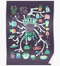 Pinch Pot Infographic Poster