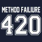 Error 420 - Method Failure - White Letters by JRon