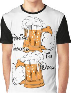 Drink around the world Graphic T-Shirt