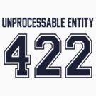 Error 422 - Unprocessable Entity - Navy Letters by JRon