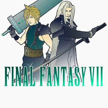 FFVII by MrMaeflower