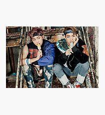 BTS - You Never Walk Alone (ft. Rapmonster & V) Photographic Print