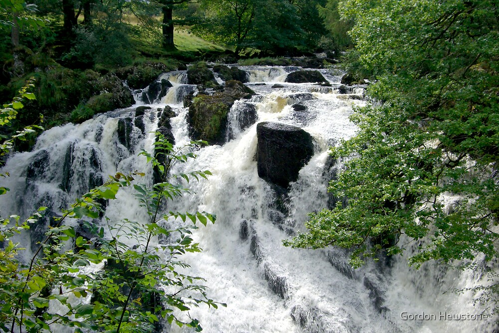 Swallow Falls (1) by Gordon Hewstone