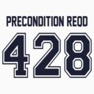 Error 428 - Precondition Required - Navy Letters by JRon