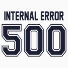Error 500 - Internal Error - Navy Letters by JRon