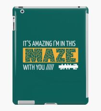 Holy Grail - Jay-Z - Turquoise iPad Case/Skin