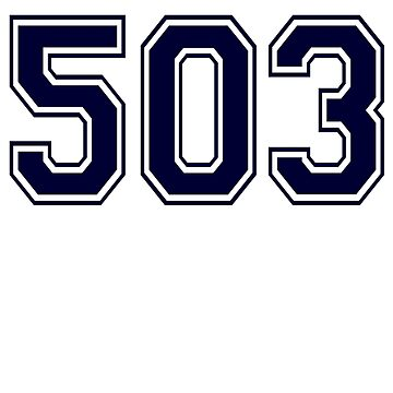 Error 503 - Service Unavailable - Navy Letters by JRon