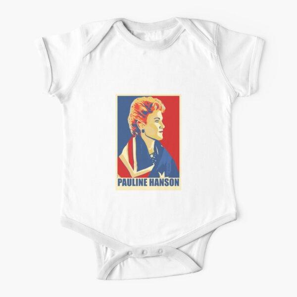 Pauline Hanson Short Sleeve Baby One-Piece