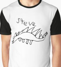 Steve the Stegosaur Graphic T-Shirt
