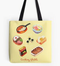 Cooking Ghibli  Tote Bag