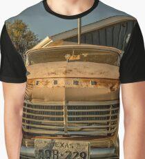 Travel Landscape - Old Route 66 Cafe - RT 66 Kansas Texas Sunrise Graphic T-Shirt
