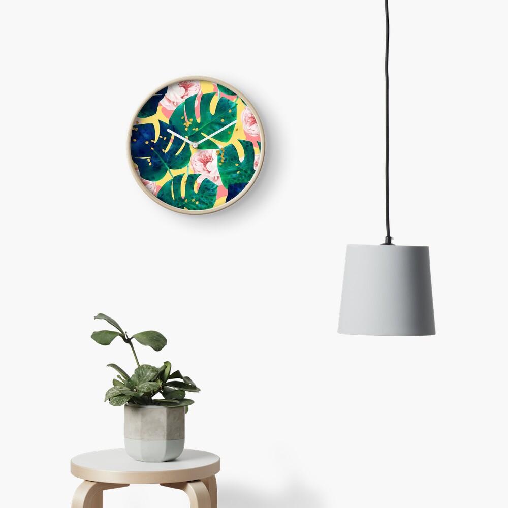 Be Here Now #redbubble #decor #buyart Clock