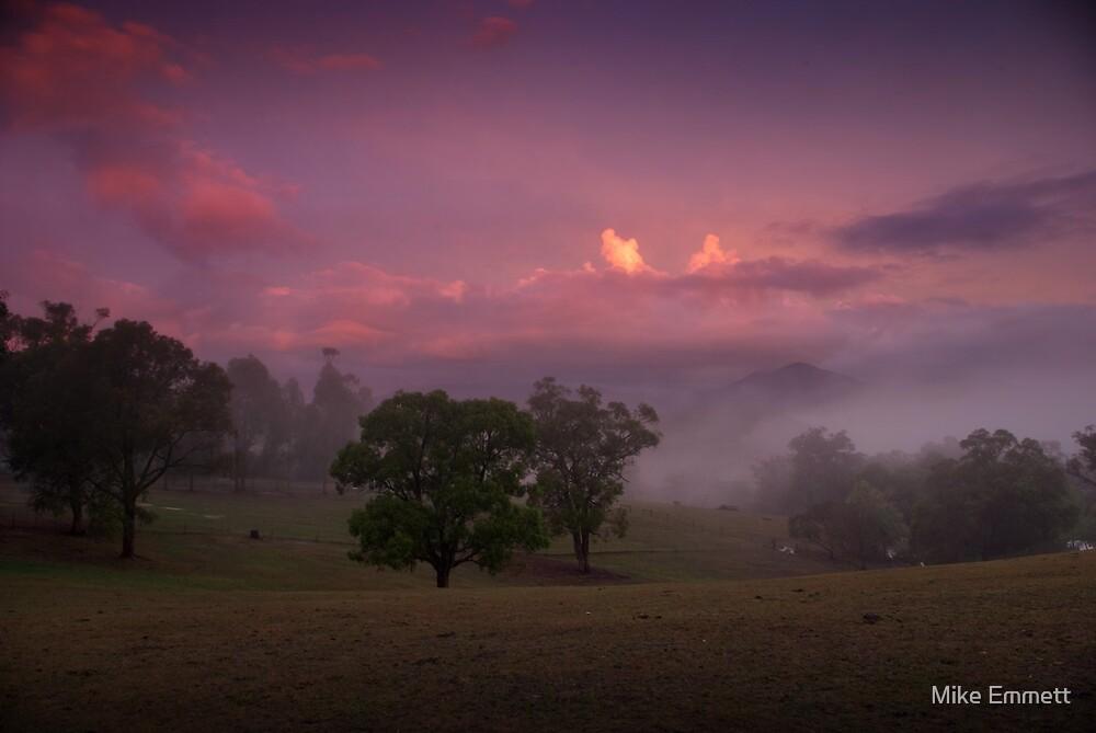 Loungeroom sunset by Mike Emmett