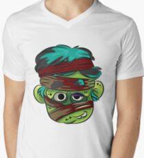 CARTOON CHARACTER Men's V-Neck T-Shirt