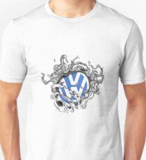 VW Bullet Holes Logo Unisex T-Shirt