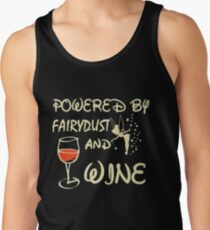 Powered by fairydust and wine T-shirt T-Shirt