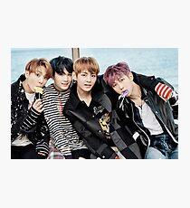BTS - You Never Walk Alone (ft. Jungkook, Suga, V, & Rapmonster) Photographic Print