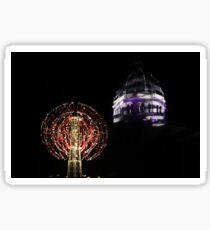 Nebulous Light Sculpture Victorian Tower Sticker