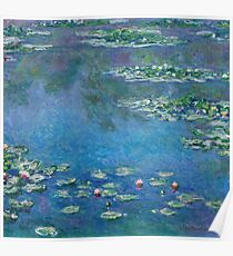 Claude Monet - Water Lilies 1906 Poster