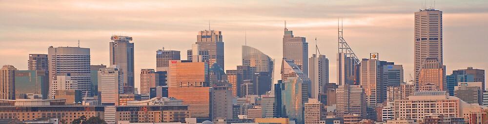 Sydney Skyline#1 by Chris  O'Mara